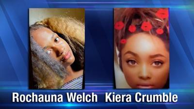 Rochauna Welch and 15-year-old Kiera Crumble