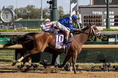 Filly Malathaat rallies in stretch to win Kentucky Oaks