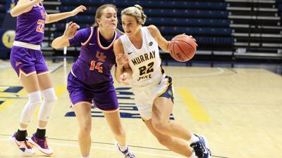 Murray State women roll past Evansville 84-61
