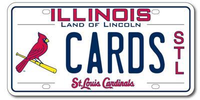 Illinois Cardinals plate