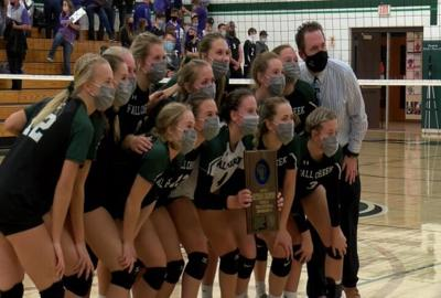 103120 fall creek volleyball sectional champs