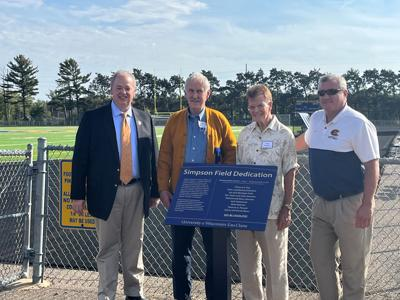 Simpson Field Dedicated to Donors