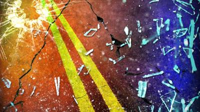Overnight crash leaves one person with life-threatening injuries