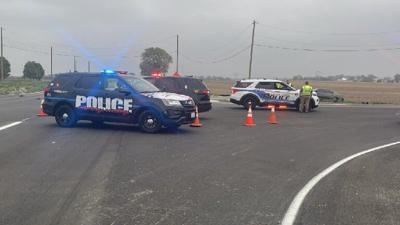 S. Mulford and Baxter Rd. crash