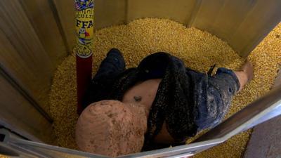 Durand Grain Bin Rescue