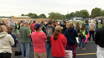 Belvidere parents protest vaccine mandate for teachers
