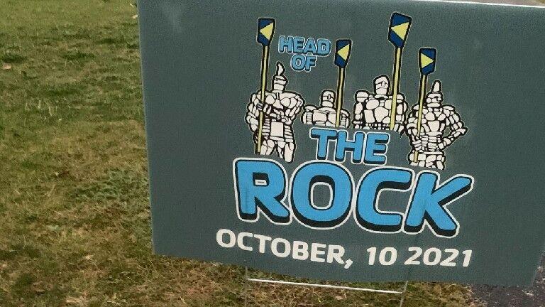 YMCA Rowing Crew prepared for Head of the Rock Regatta