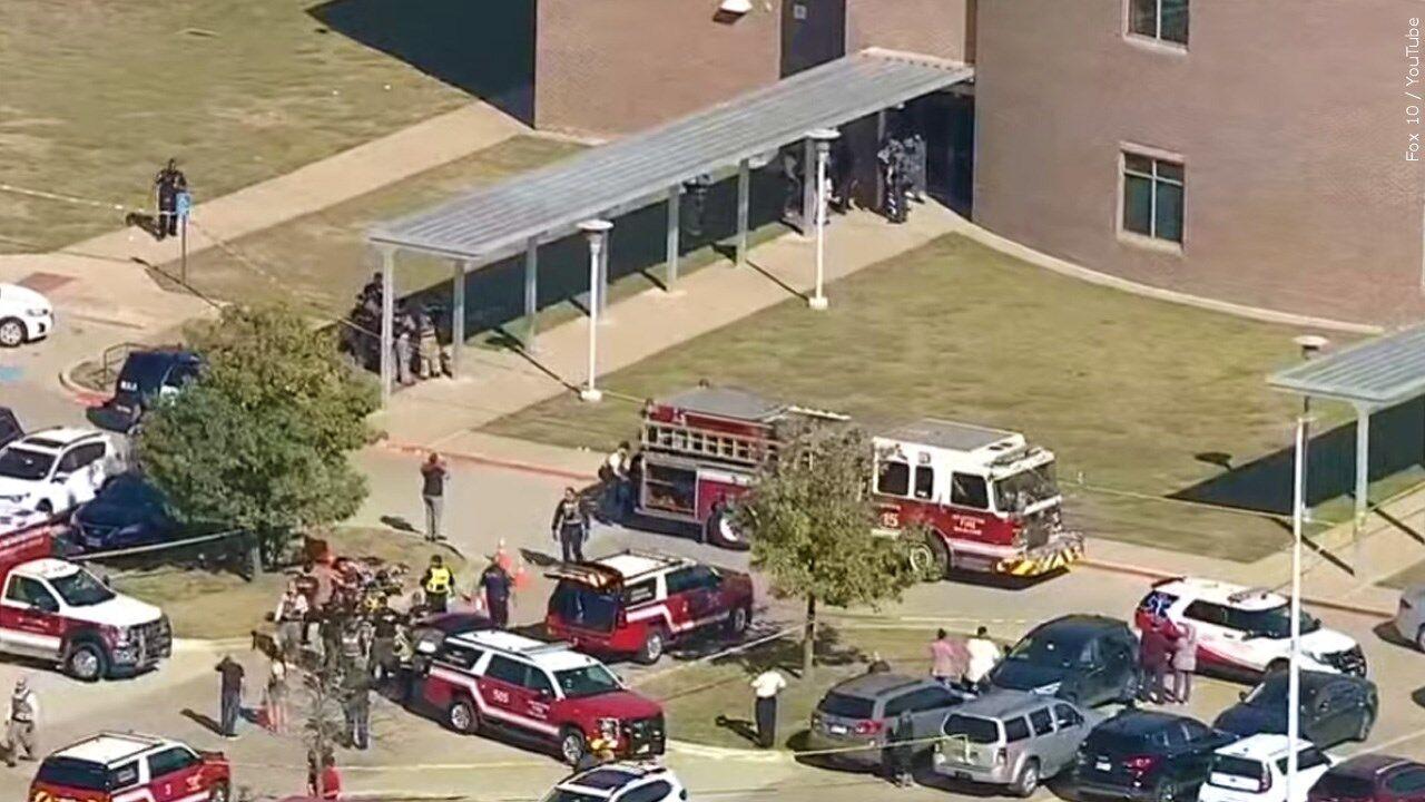 texas high school shooting