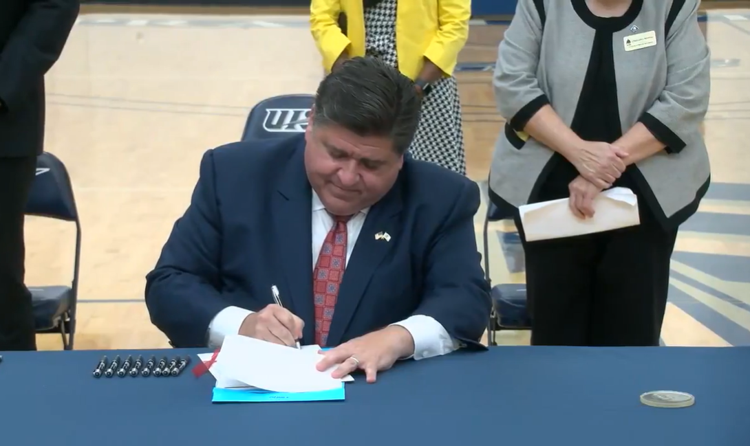 pritzker bill signing