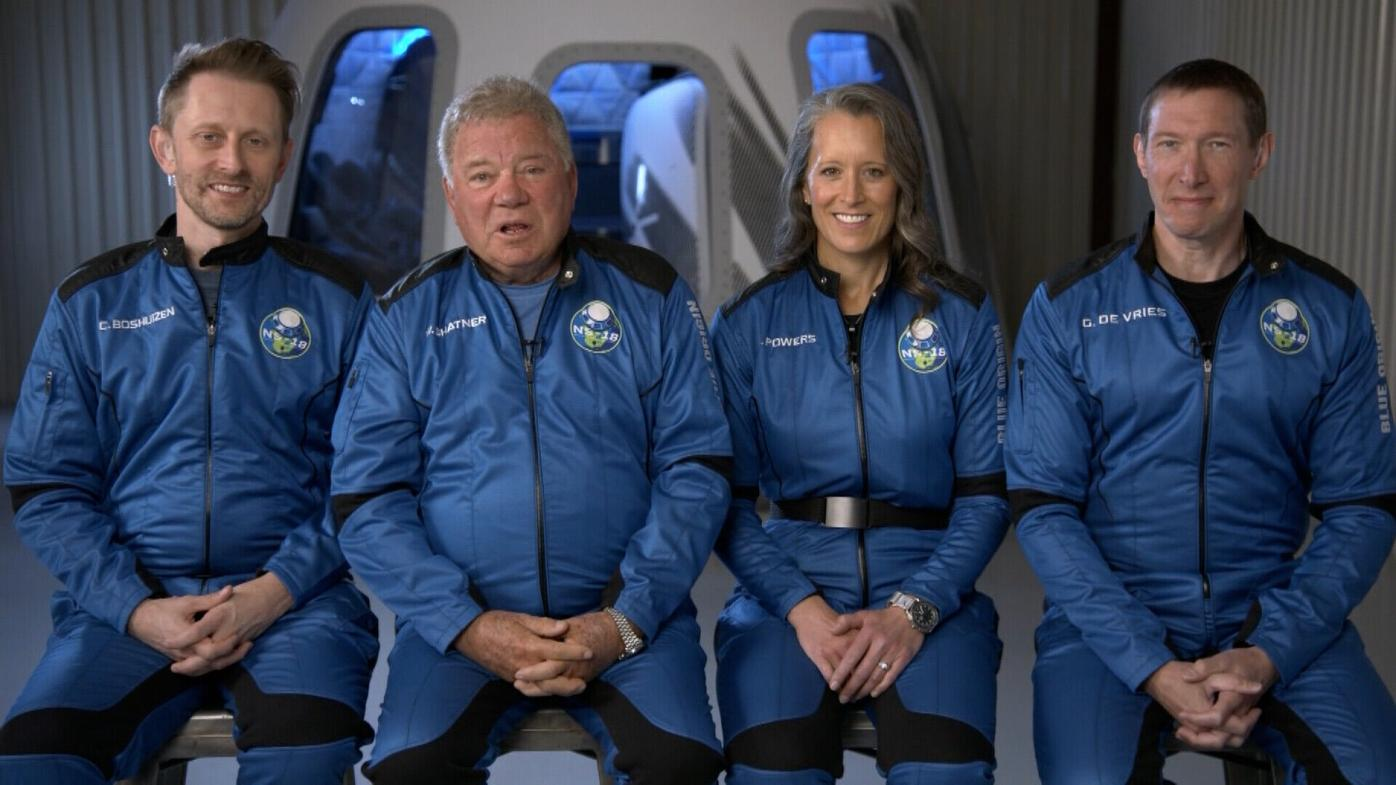 William Shatner is now the oldest person ever to go to space: 'The most profound experience'