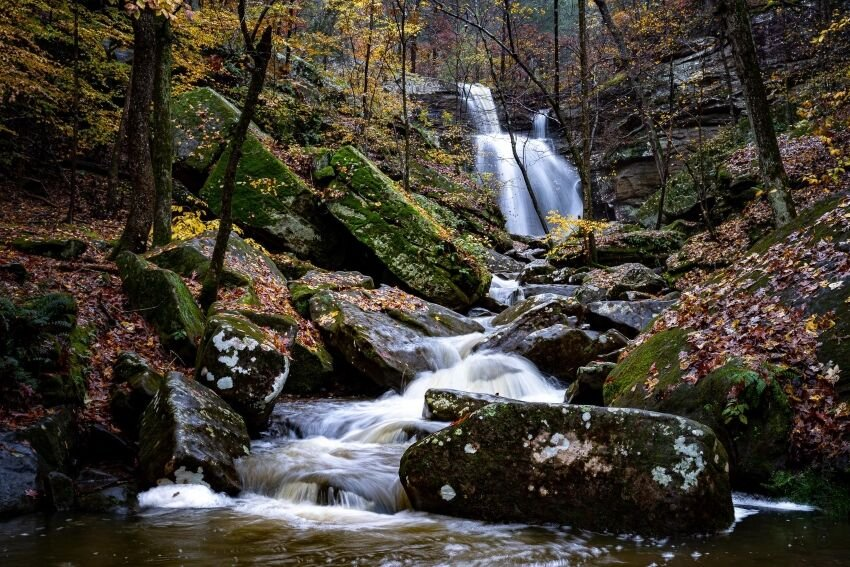 Waterfall Burden Falls Mark Chambers