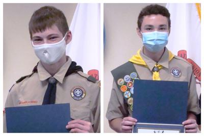 Eagle Scouts Honored