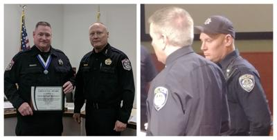 Police Officers in Montgomery, Hinckley Receive Life-Saving