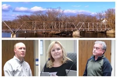 Collage  Millbrook Bridge, Joe Frazee, Amy Cesich, and Jeff Wehrli