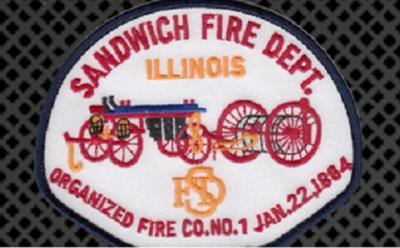 Sandwich Fire Dept. Patch