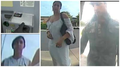 Suspects Wanted for ATM Skimming in Yorkville, Aurora