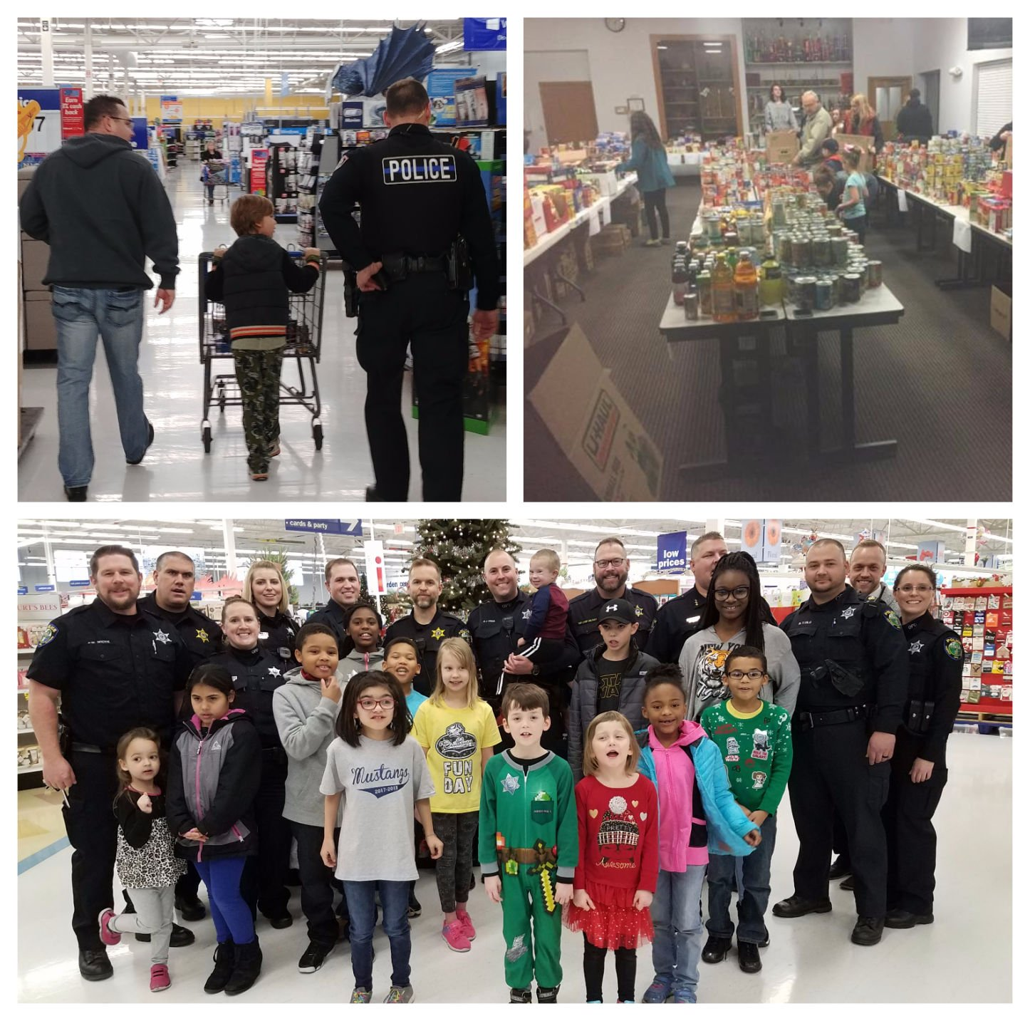 ... (bottom) Oswego Police and Plano Police all participated in  Shop with a Cop  this year where they accompanied children to pick out Christmas gifts at ... & Plano Hinckley Oswego Police; Franklin Mall Christmas Project ...