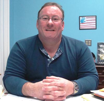 Sandwich Mayor Rich Robinson