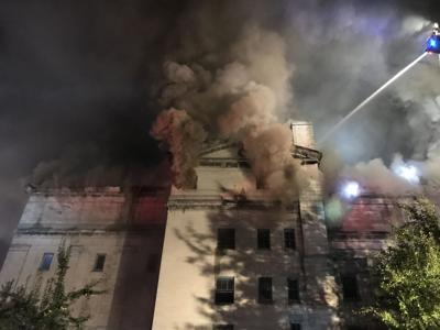 Masonic Temple Fire