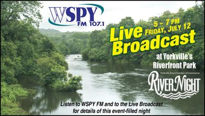 WSPY FM 107.1 to Broadcast Live from Yorkville's River Fest