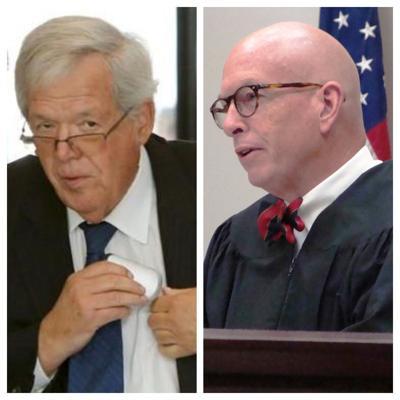 Dennis Hastert and Judge Robert Pilmer