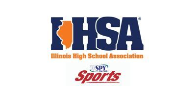 IHSA and SPORTS logo