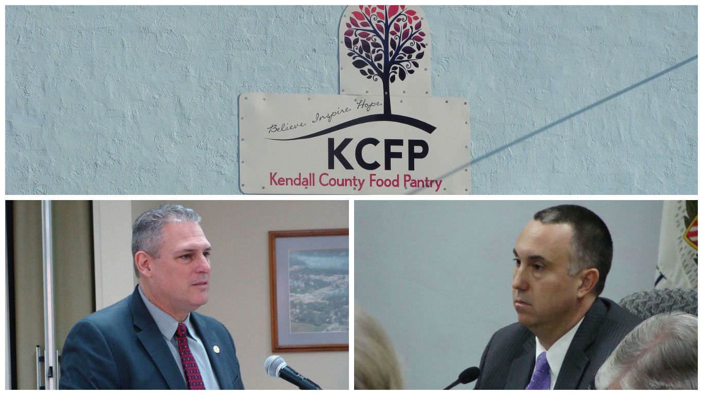 Spaeths Resign from Kendall County Food Pantry Yorkville Police