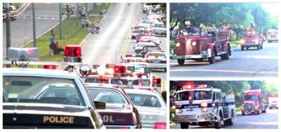 Emergency Vehicle Procession