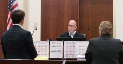 Judge Pilmer, John Ellis and Kristi Browne in court on 09 13 2019