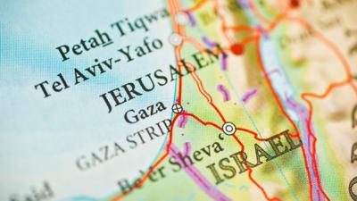 Israel begins building fence surrounding entire Gaza Strip
