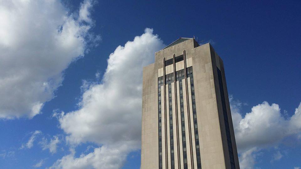 NIU tower