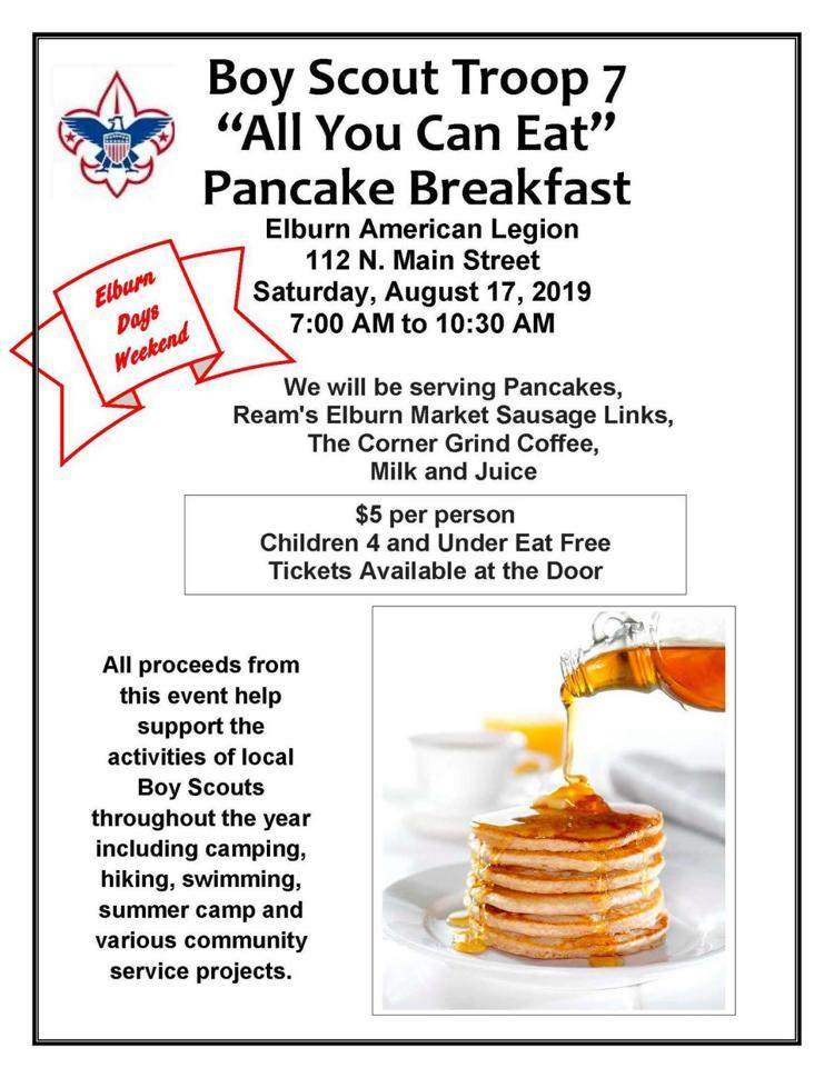 Pancake Breakfast Flier