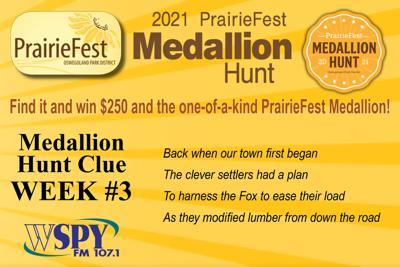 PrairieFest Medallion Hunt continues with Week #3