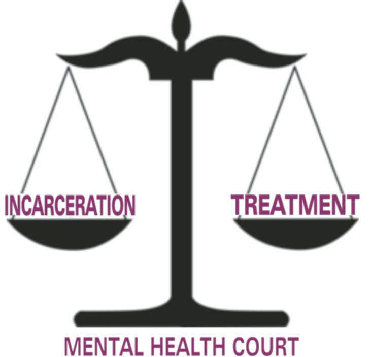Mental Health Court Graphic