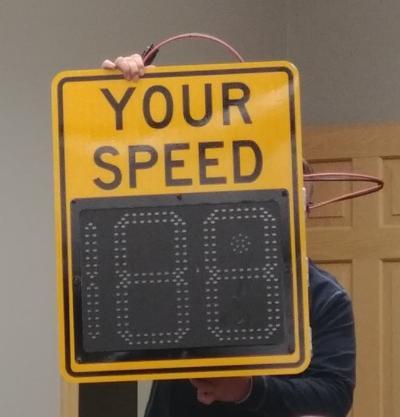 Speed Sign Yorkville