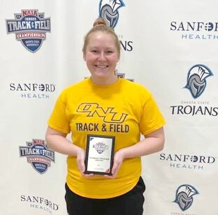 Maddie Robinson, Sandwich High School Grad, All-American finished 7th at NAIA Nationals