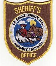 LaSalle County Sheriff Badge
