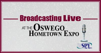 WSPY is Broadcasting Live from the Oswego Hometown Expo