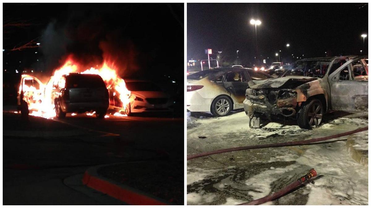 vehicle fire at oswego walmart 041816 local news wspynewscom