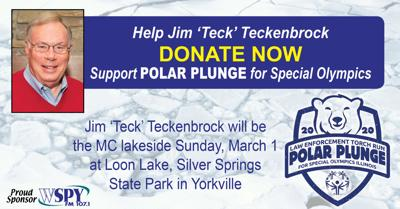 Teckenbrock to Emcee Polar Plunge for Special Olympics at Loon Lake