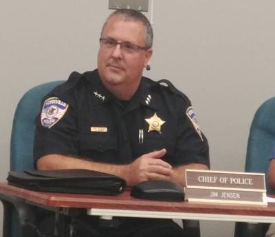 Yorkville Police Chief Jim Jensen