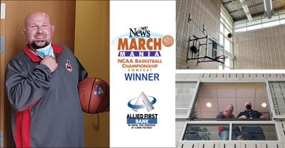 Terry Holly, winner WSPY's March Mania contest