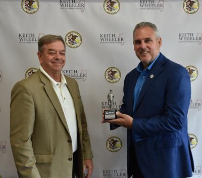 Rep. Keith Wheeler NFIB award.JPG