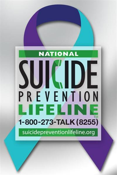 Info And Resources Available For National Suicide Prevention