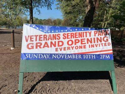 Veterans Serenity Park GO Sign