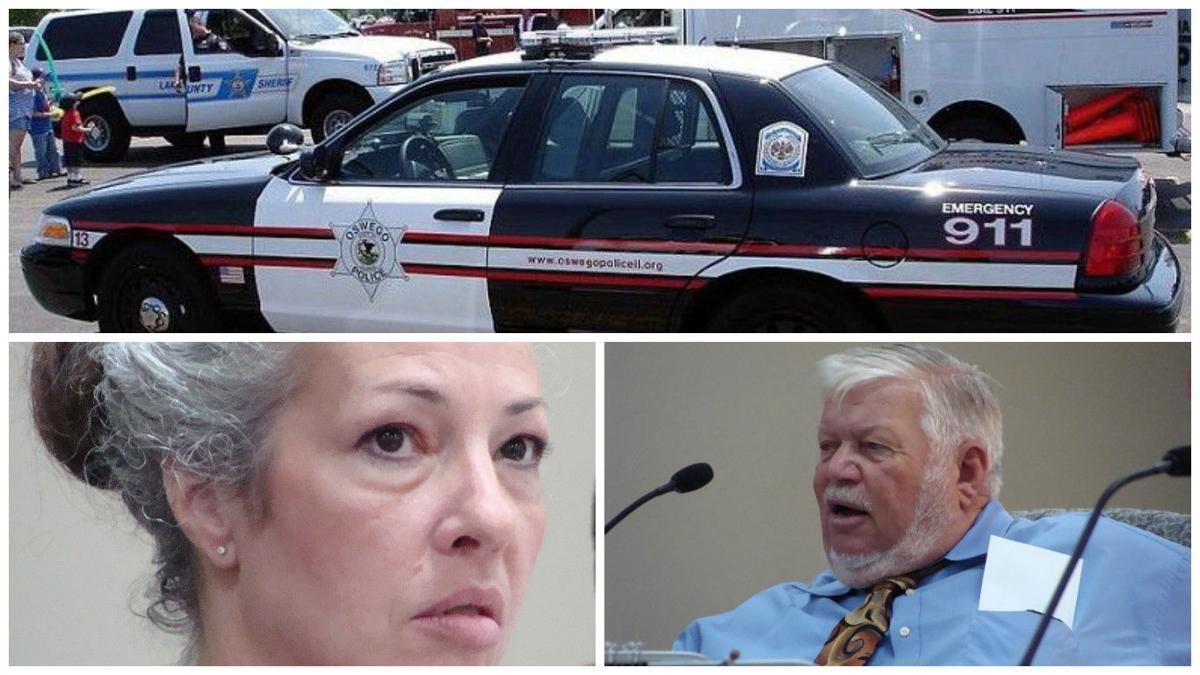 Illinois kendall county oswego - Oswego Squad Car Audra Hendrix Bob Davidson Kendall County