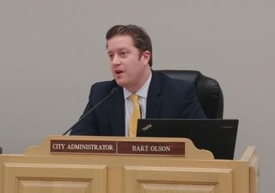 Yorkville City Administrator Bart Olson
