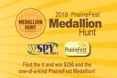 Oswego PrairieFest Medallion Hunt
