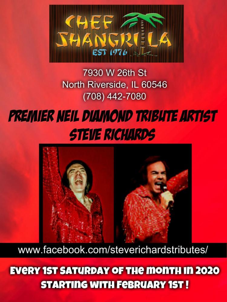 Neil Diamond Tribute Artist Steve Richards !