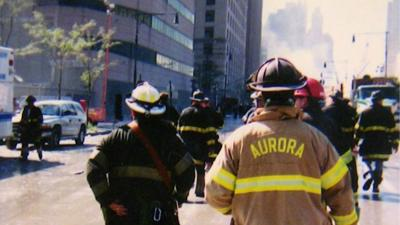 Aurora Firefighters worked on rescue and recovery efforts in New York City in the immediate days following the terrorist attacks on September 11 2001.png